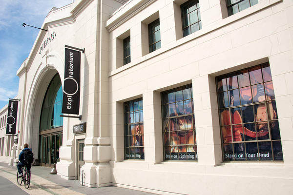 Entrada do museu Exploratorium de São Francisco (EUA)