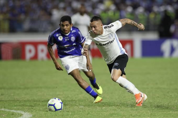 Partida entre CSA-AL e Grêmio