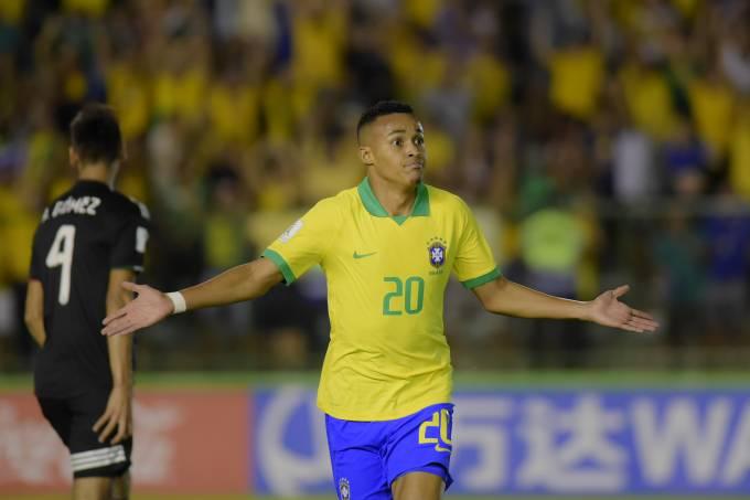 Sub 17 Mexico e Brasil
