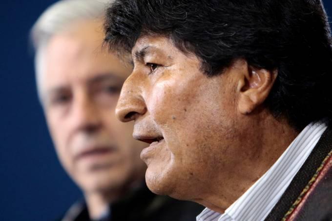 Anti-government protests in Bolivia