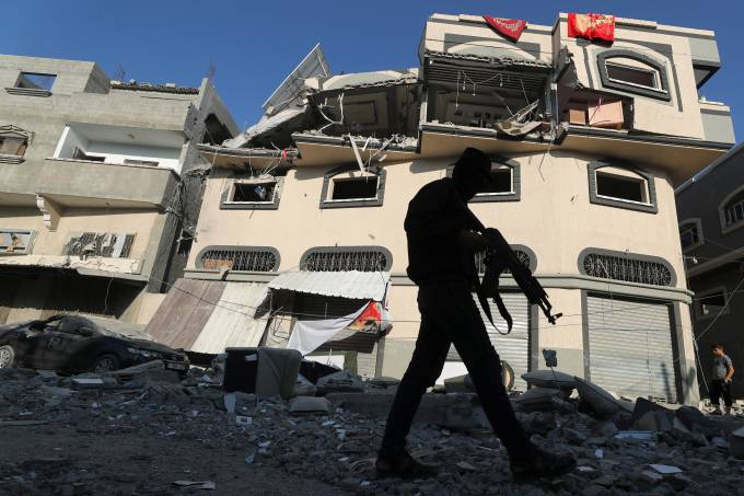 Palestina Gaza Militante