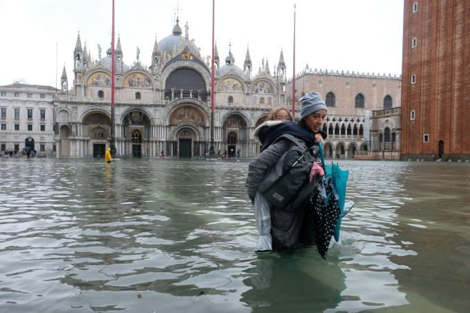 Inundações Veneza Itália
