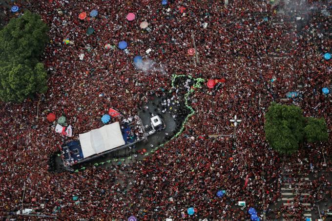 Copa Libertadores – Flamengo Victory Parade