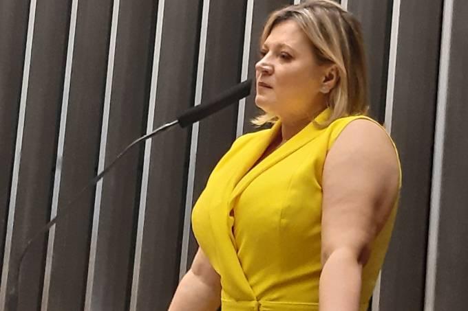 A deputada federal Joice Hasselmann (PSL-SP), ex-líder do governo Bolsonaro no Congresso