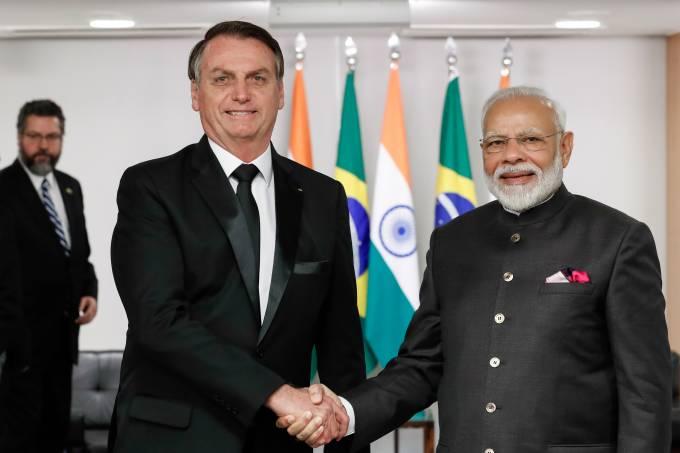 13112019 Encontro com o Primeiro-Ministro da República da Índi