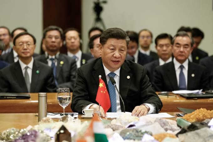 14/11/2019 Sessão Plenária da XI Cúpula de Líderes do BRICS