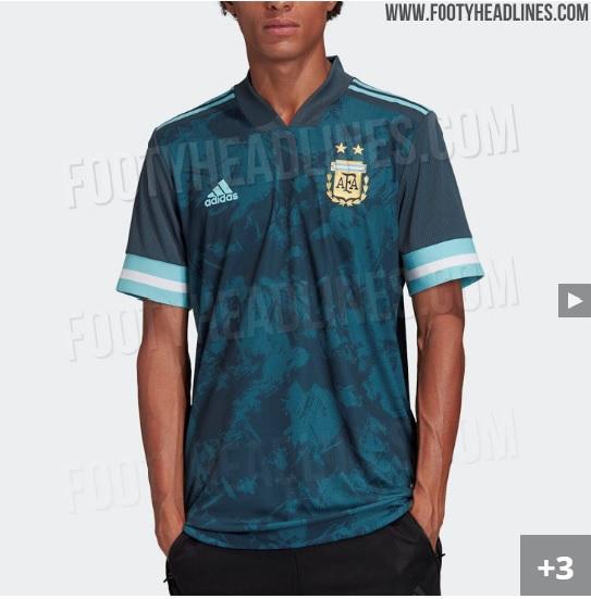 Nova camisa da seleção argentina