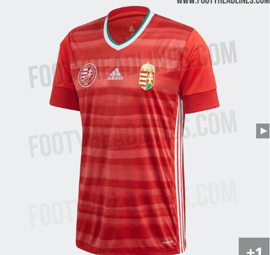 Camisa da seleção da Hungria