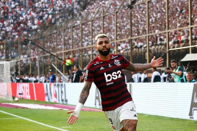 Gabriel Barbosa Gabigol Final Libertadores Flamengo River