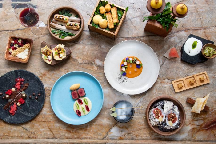 O menu degustação do Origem: campeão como melhor restaurante e melhor variado/contemporâneo da cidade
