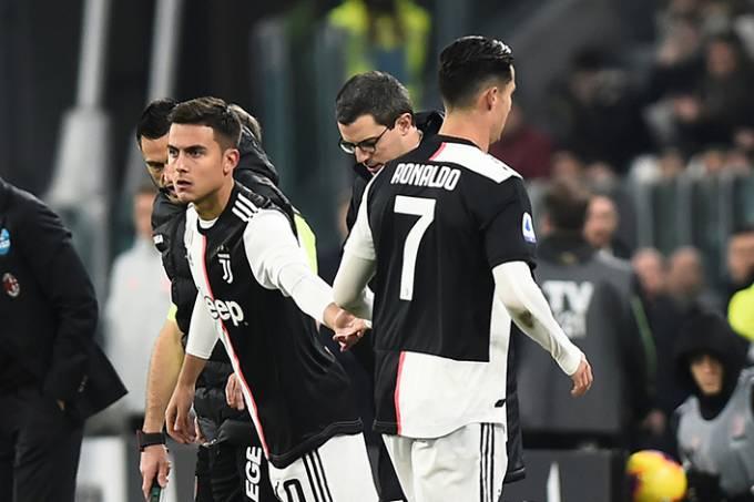 Cristiano Ronaldo Juventus lesão