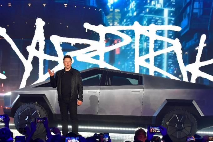 Elon Musk lança o Tesla Cybertruck