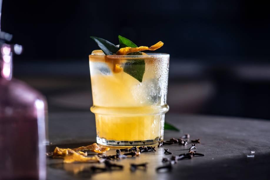 Mr. tangerine man, do Larribar: a melhor carta de drinques de Salvador