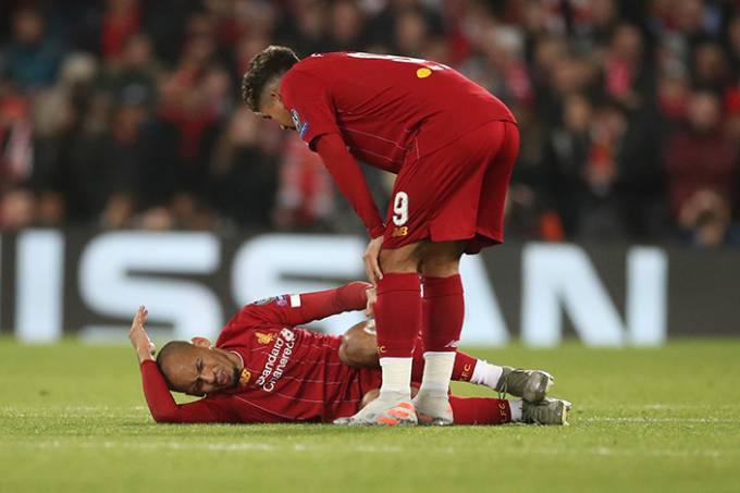 Fabinho Liverpool Liga dos Campeões