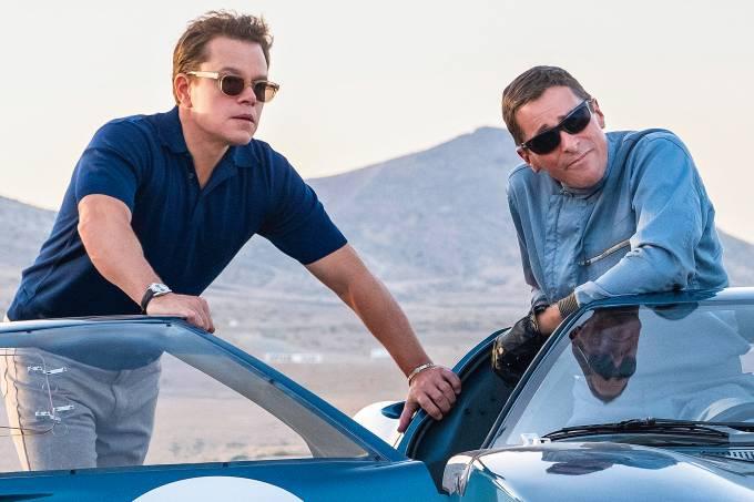 Carroll Shelby (Matt Damon) e Ken Miles (Christian Bale)