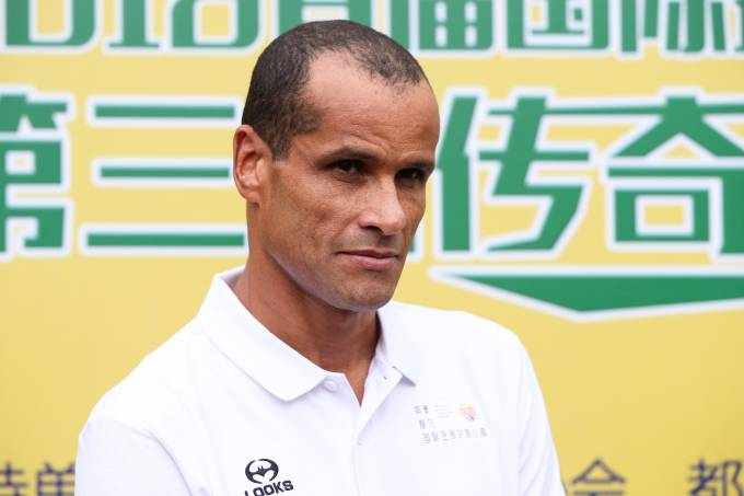 Rivaldo Attends Legend Star China Tour
