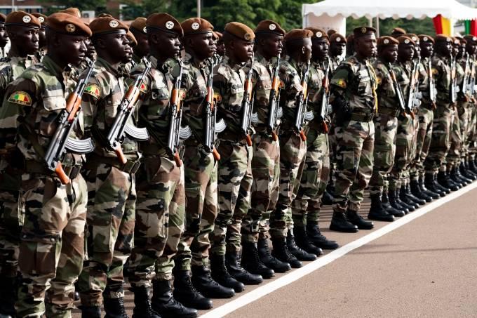 Exército do Mali celebra o Dia Nacional, em 22 de setembro de 2018