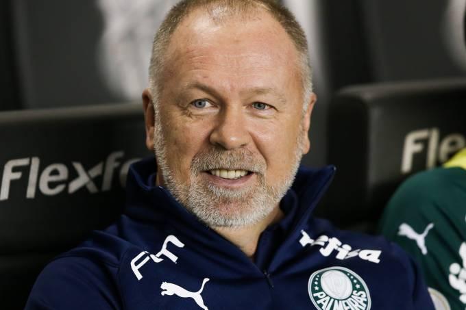 Mano Menezes, técnico do Palmeiras