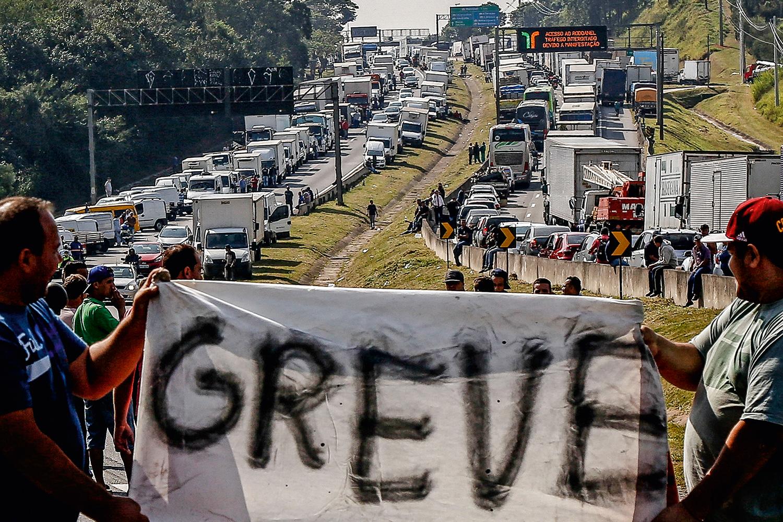Líder de greve de 2018 diz ter 'zero possibilidade' de nova paralisação |  VEJA