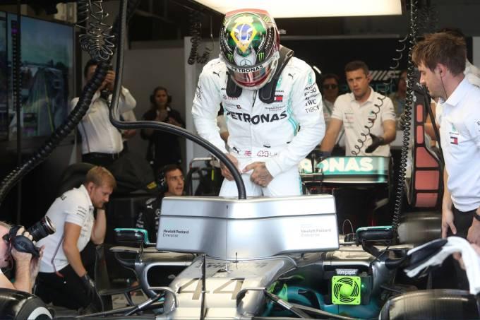 Hamilton Mercedes Fórmula 1