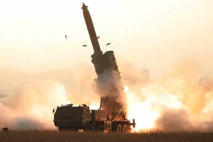 Coreia do norte foguetes