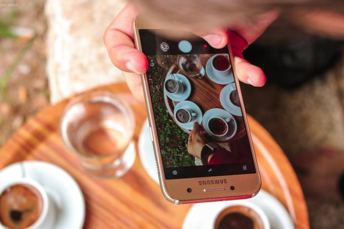 Smartphone foto
