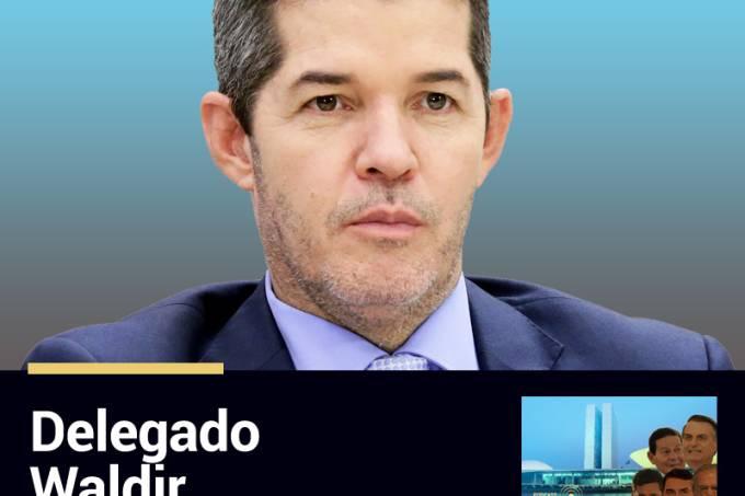 Podcast Funcionário da Semana: Delegado Waldir