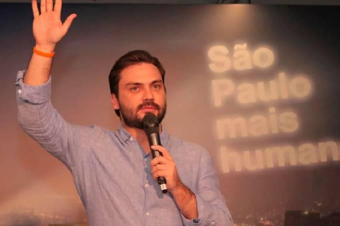 Filipe Sabará, candidato do Novo à prefeitura de São Paulo