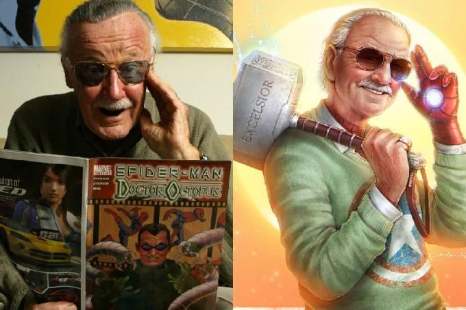 Homenagens e Stan Lee
