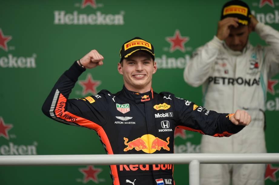 Max Verstappen, da Red Bull, conquistou a pole position do Grande Prêmio do Brasil de Fórmula 1