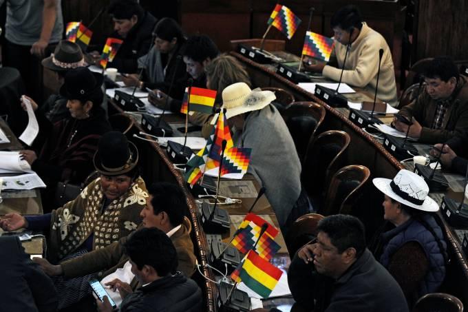 BOLIVIA-CRISIS-CONGRESS-ELECTION