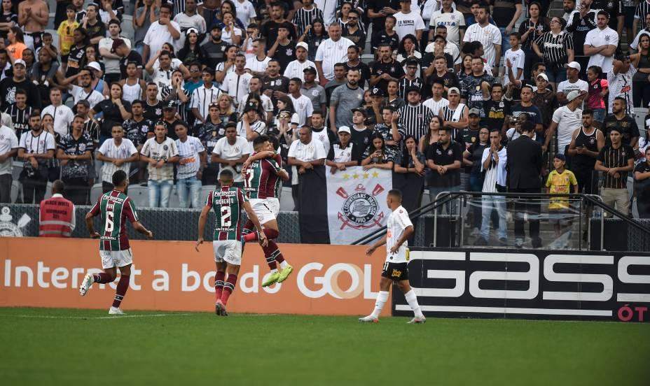 Corinthians x Fluminense pela última rodada do Brasileirão 2019, na Arena Corinthians