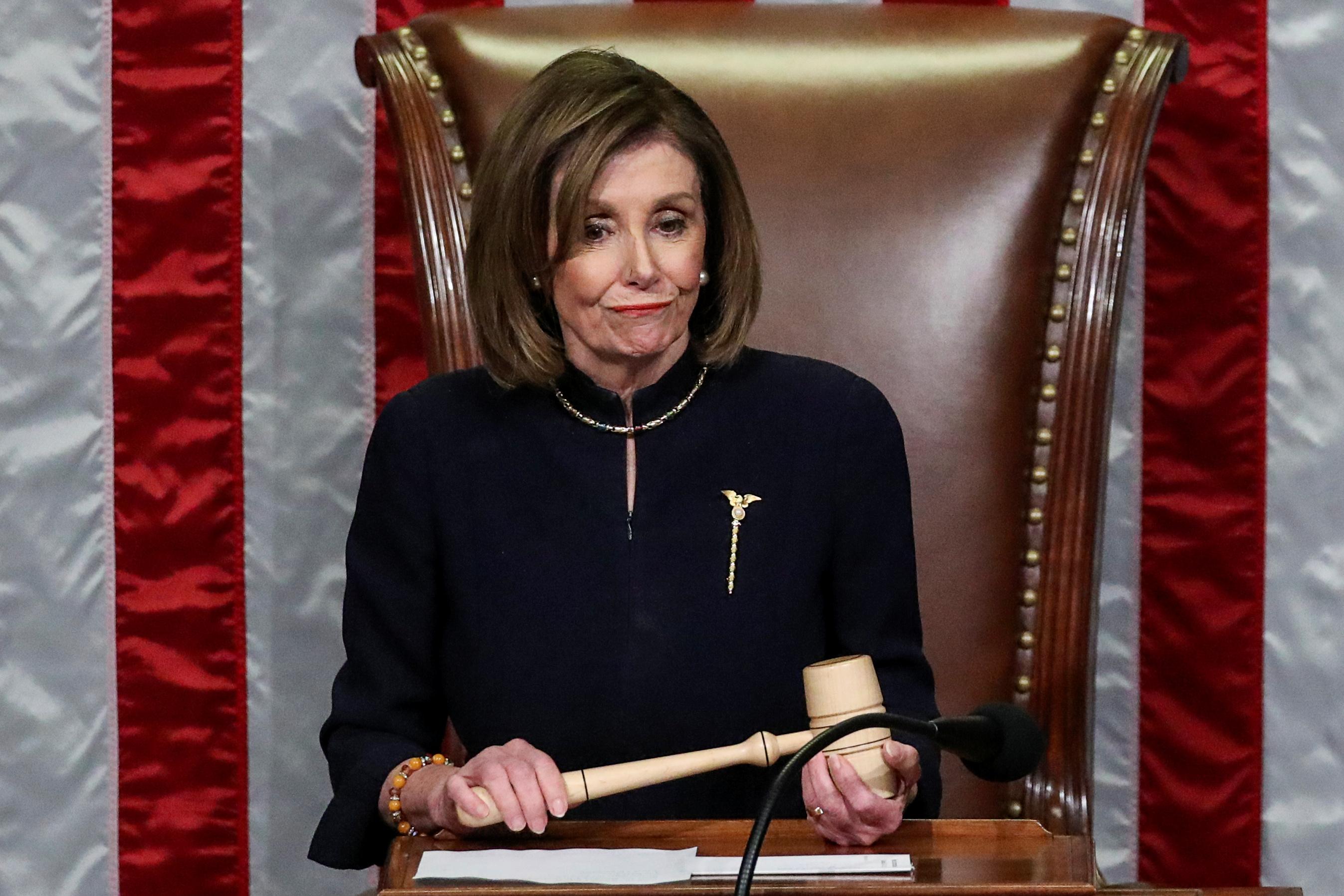 Nancy Pelosi diz que pode adiar envio de impeachment ao Senado | VEJA
