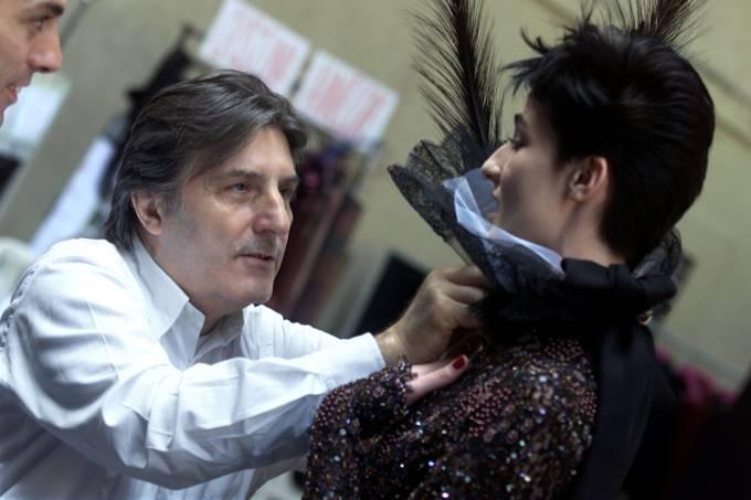 Emanuel Ungaro – estilista – francês – italiano