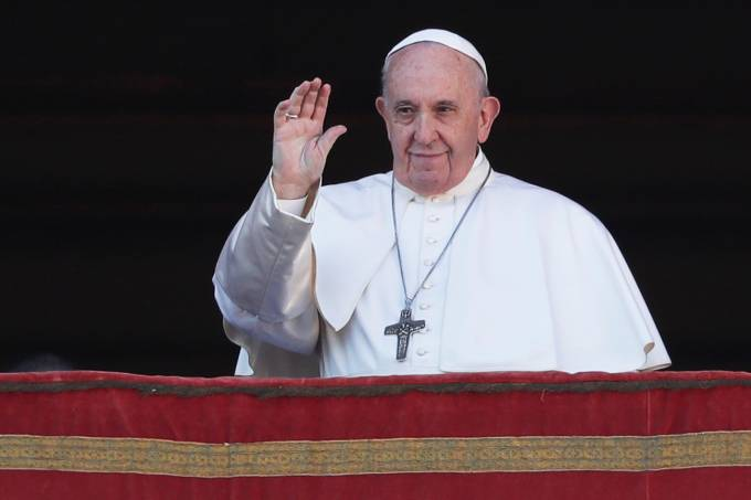 "Pope Francis delivers the Christmas Day ""Urbi et Orbi"" message"