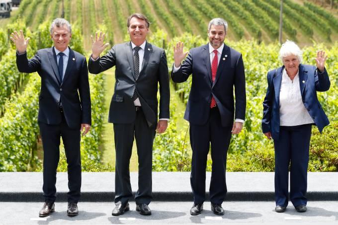 Fotografia Oficial dos Chefes de Delegação Mercosul