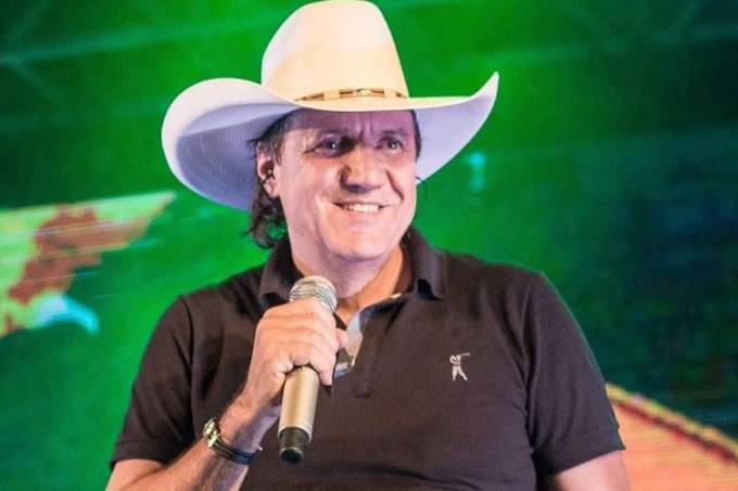 O cantor sertanejo Juliano Cezar
