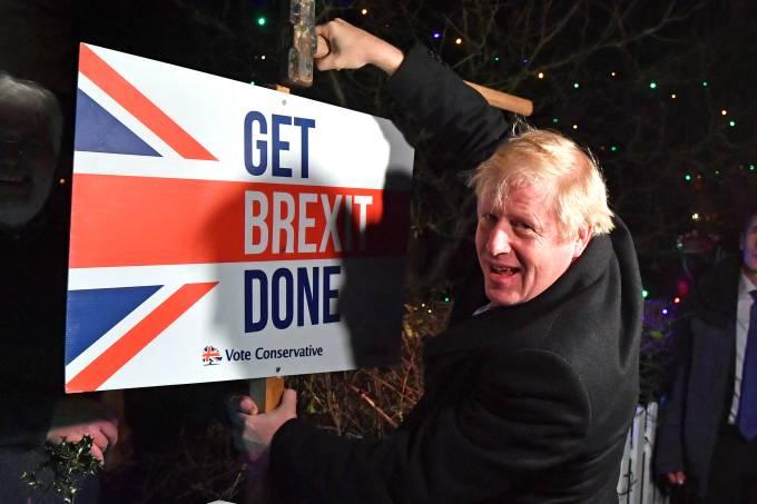 Reino Unido Brexit Eleição
