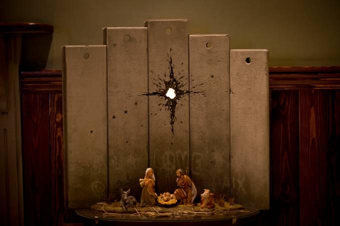 Banksy – Israel – Palestina – presépio