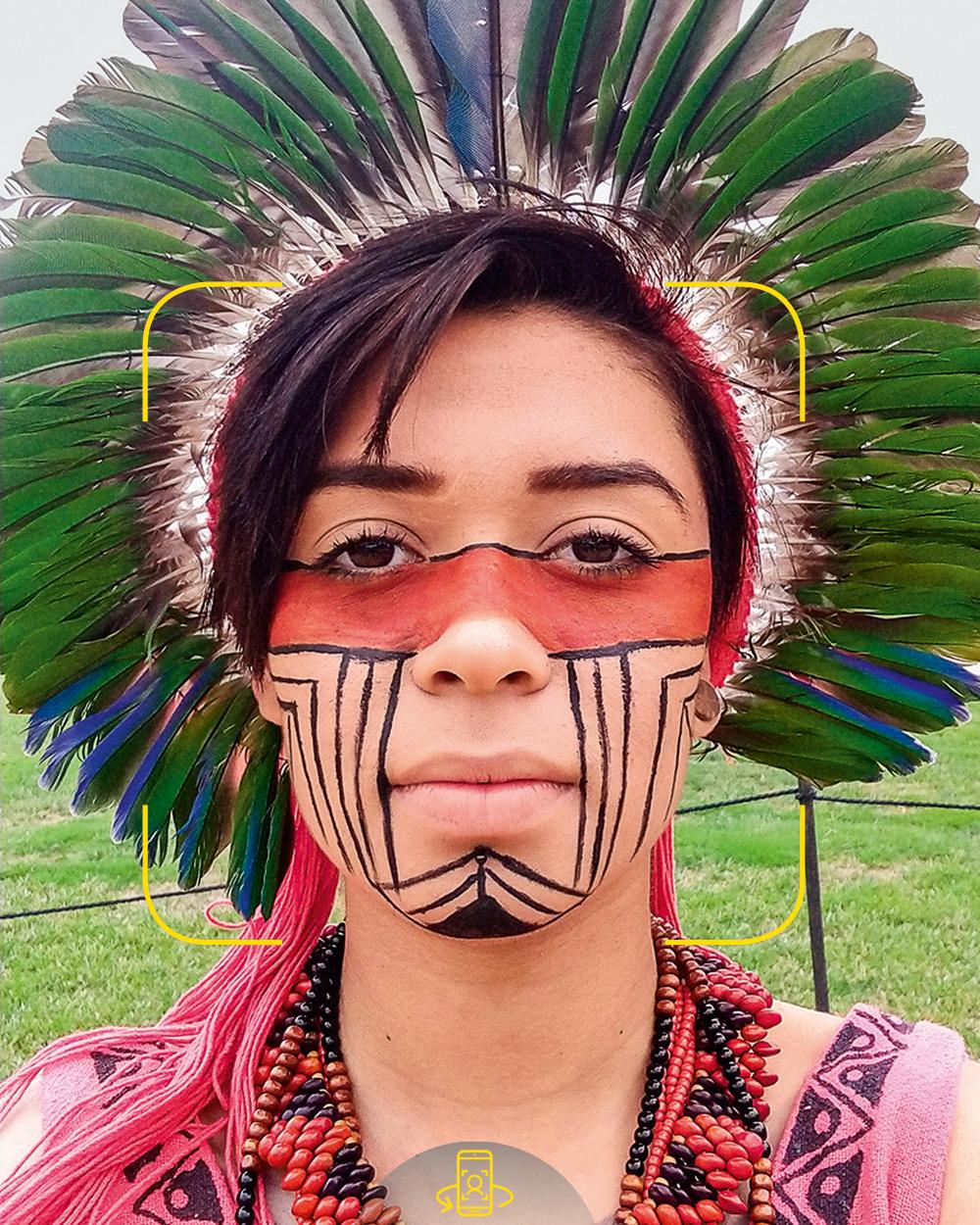 """BULlYING SELVAGEM- A ativista, que quer fazer psicologia: """"Quando estou pintada, as pessoas começam a rir de mim"""""""