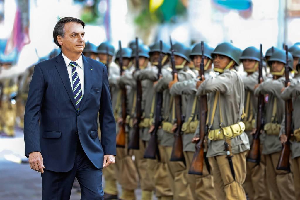 40% dos brasileiros acham que país corre risco de nova ditadura militar |  VEJA