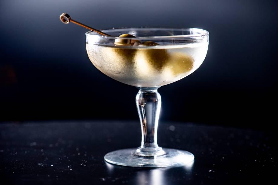 Dry martini: R$ 33,00