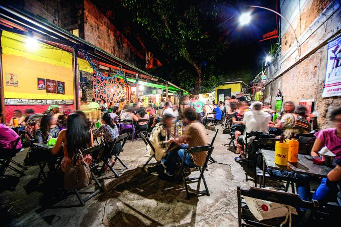 Quintal do Raso da Catarina comer e beber Salvador 2019