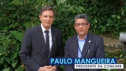 Crivella e Paulo Mangueira
