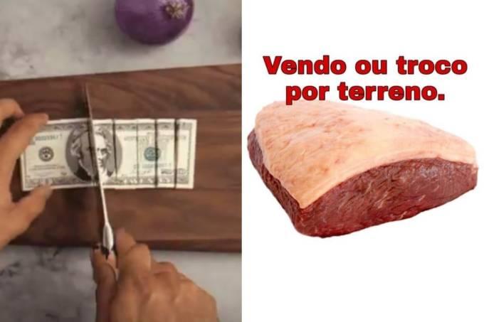 Alta no preço da carne vira meme (04/12/2019)