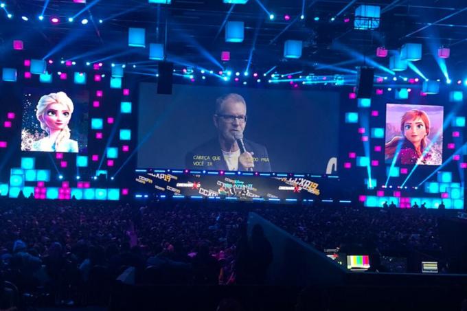 Painel de'Frozen 2′ na CCXP 2019