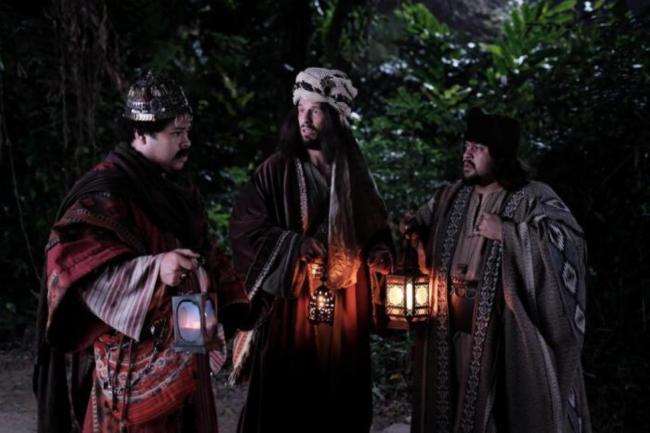 Os três Reis Magos no Especial de Natal do Porta dos Fundos