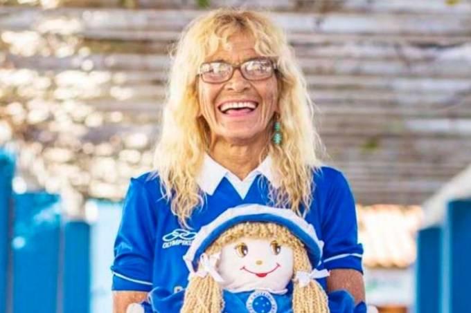 Dona Salomé, torcedora-símbolo do Cruzeiro