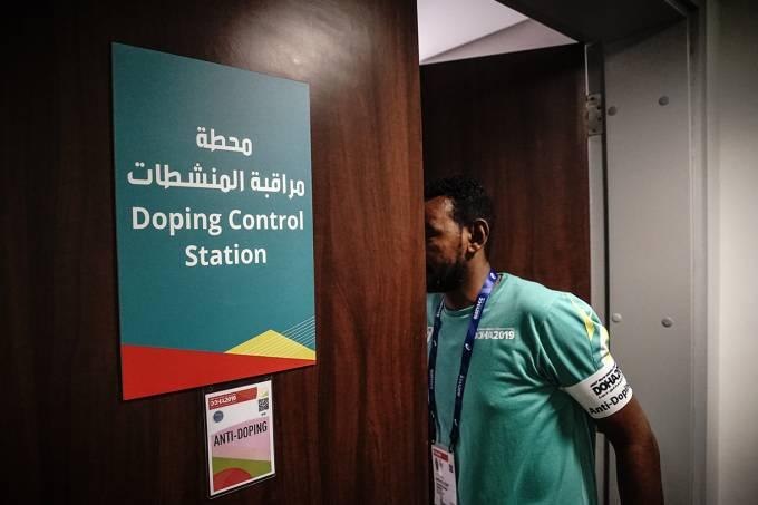 Doping Exame Antidoping Doha Mundial de Atletismo