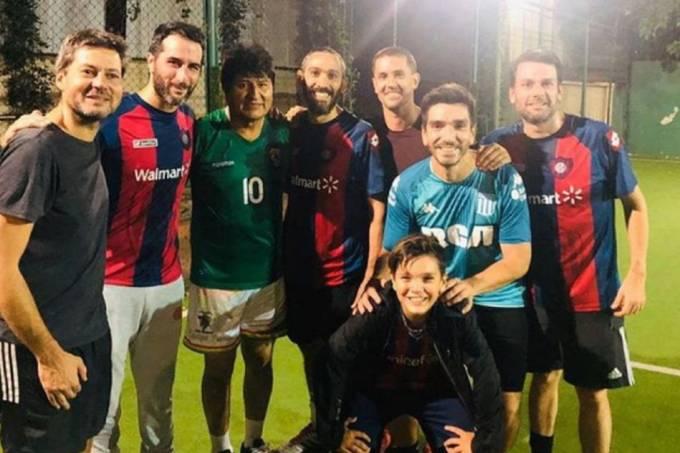 Evo Morales futebol San Lorezo